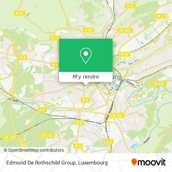 Edmond De Rothschild Group plan