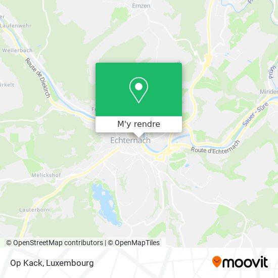 Parking Op Kack plan
