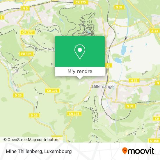 Mine Thillenberg plan