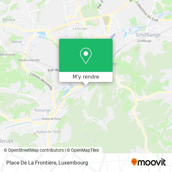 Parking Aldi plan