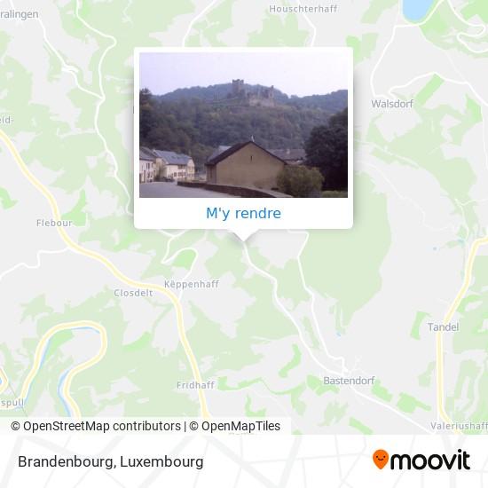 Brandenbourg plan