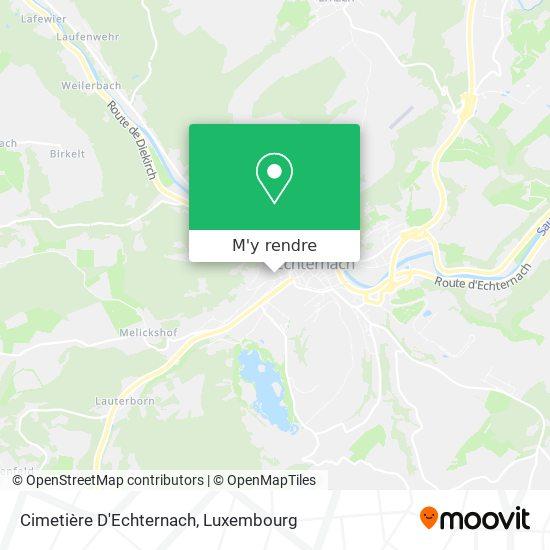Cimetière D'Echternach plan