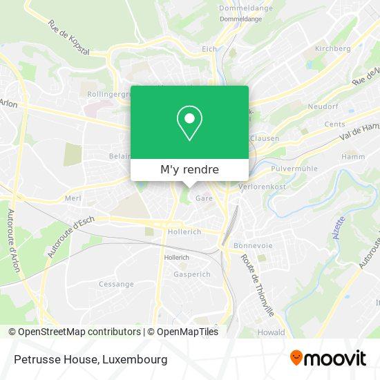 Ambassade De Belgique plan
