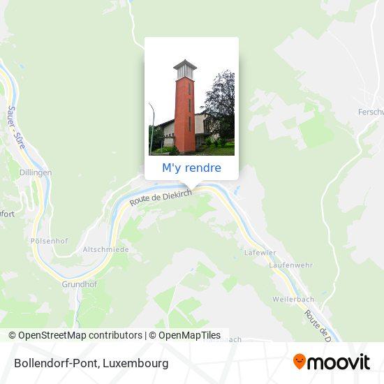 Bollendorf-Pont plan