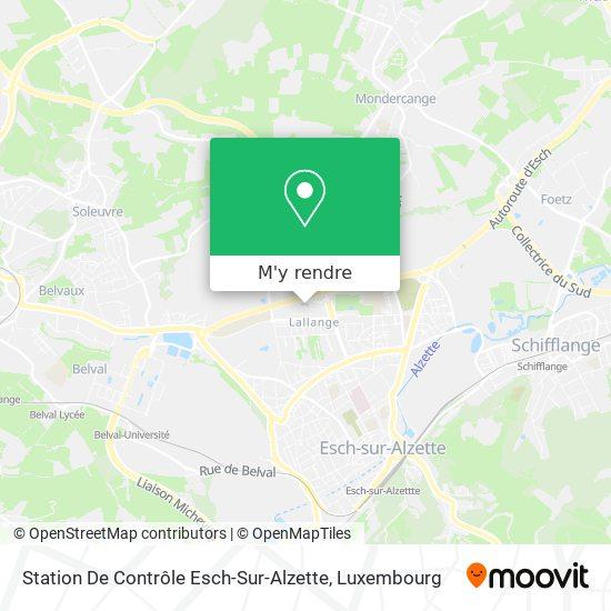 Société Nationale De Contrôle Technique plan