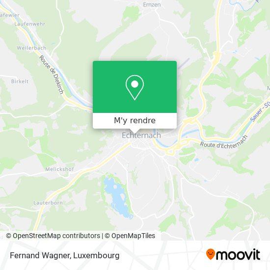 Electricite F. Wagner Sarl plan