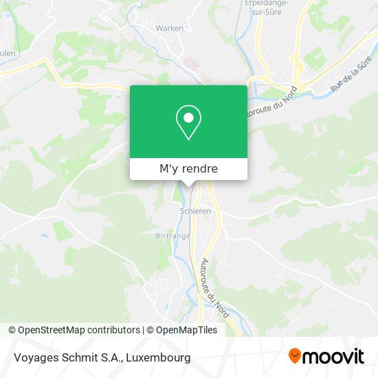 Voyages Schmit S.A. plan