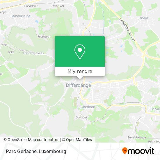Parc Gerlache plan