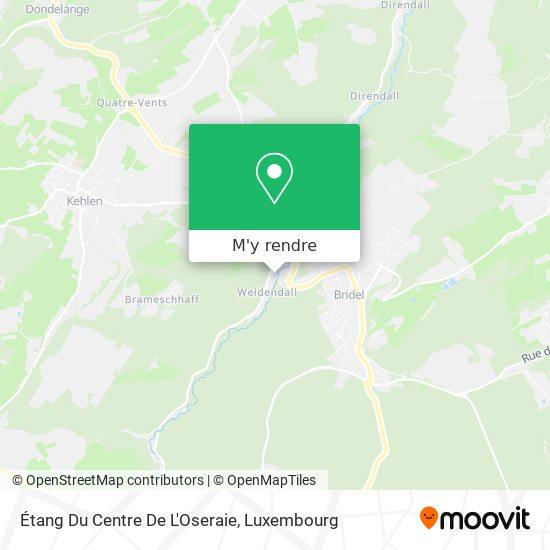 Étang Du Centre De L'Oseraie plan