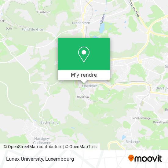 Centre Sportif D'Oberkorn plan