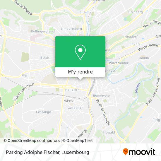 Parking Adolphe Fischer plan