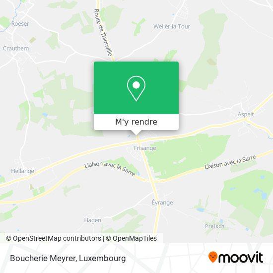 Boucherie Meyrer plan