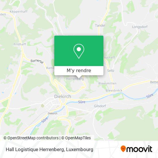 Hall Logistique Herrenberg plan