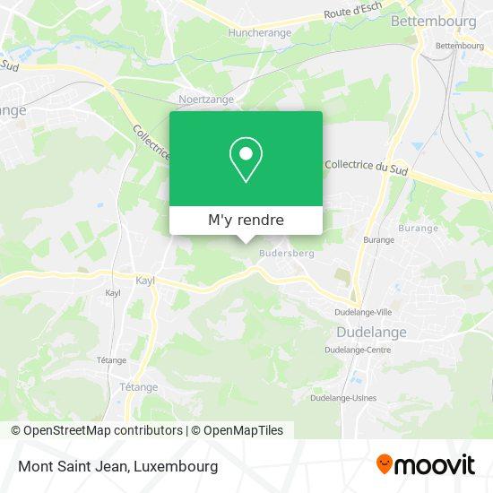 Mont Saint-Jean plan