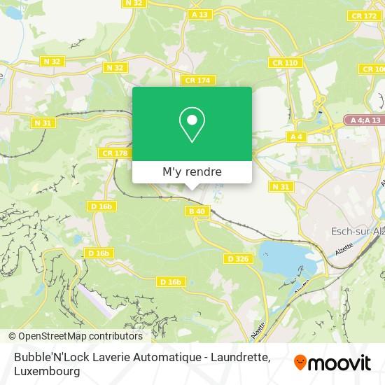 Bubble'N'Lock Laverie Automatique - Laundrette plan
