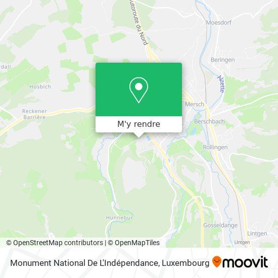 Monument National De L'Indépendance plan