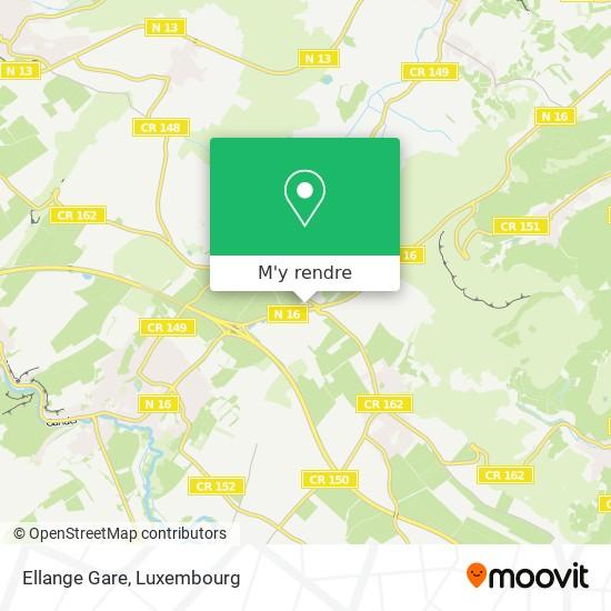Ellange Gare plan