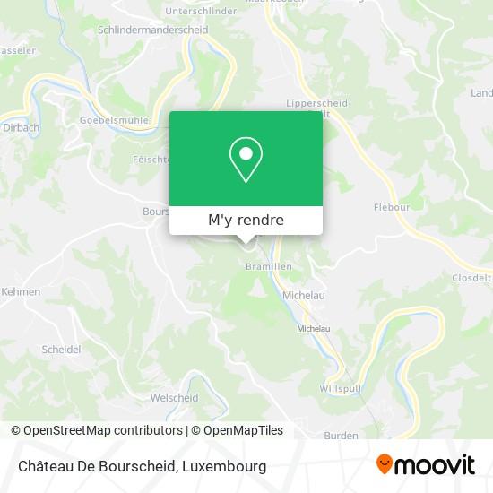 Château De Bourscheid plan