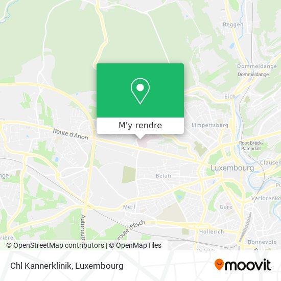 Centre Hospitalier De Luxembourg plan
