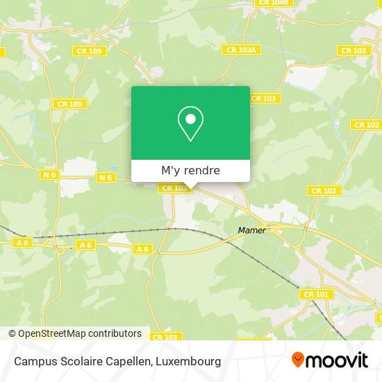 Campus Scolaire Capellen plan