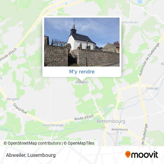 Abweiler plan