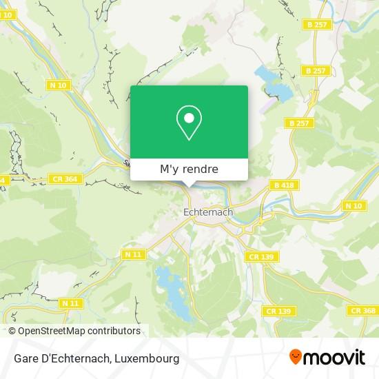 Gare D'Echternach plan