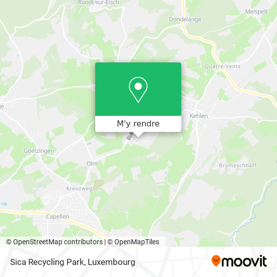 Sica Recycling Park plan