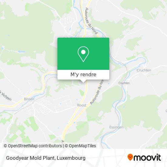 Goodyear Mold Plant plan