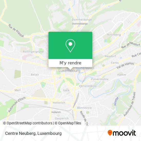 Centre Neuberg plan