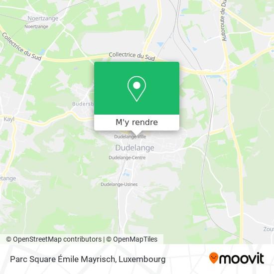 Square Émile Mayrisch plan