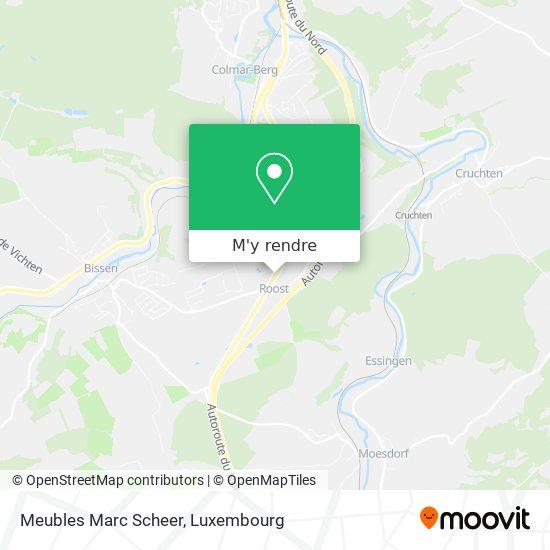 Meubles Marc Scheer plan