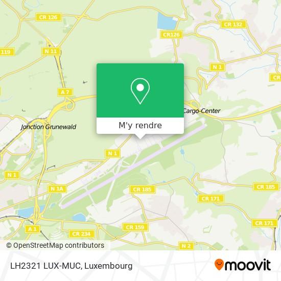 LH2321 LUX-MUC plan