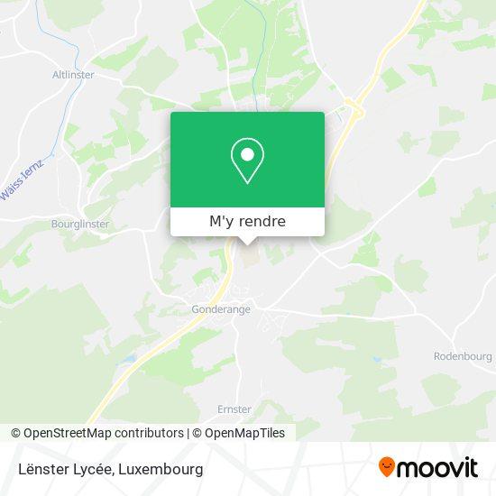 Lënster Lycée plan