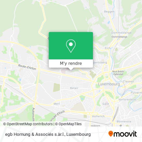 egb Hornung & Associés s.àr.l. plan
