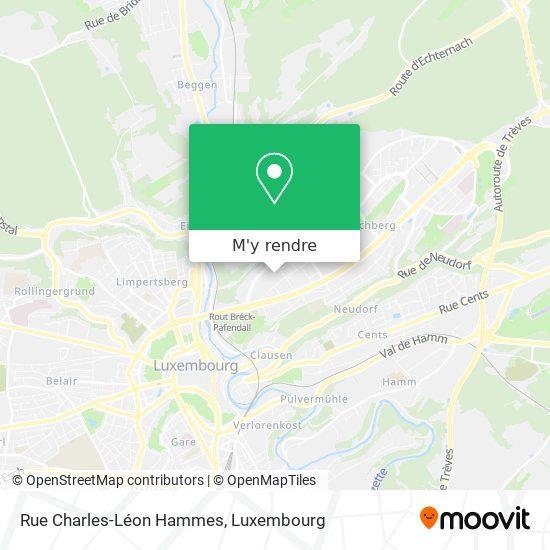 Rue Charles-Léon Hammes plan