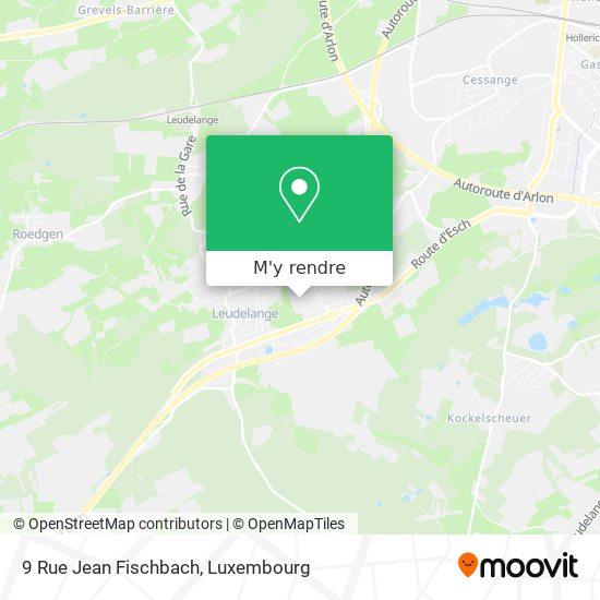 9 Rue Jean Fischbach plan