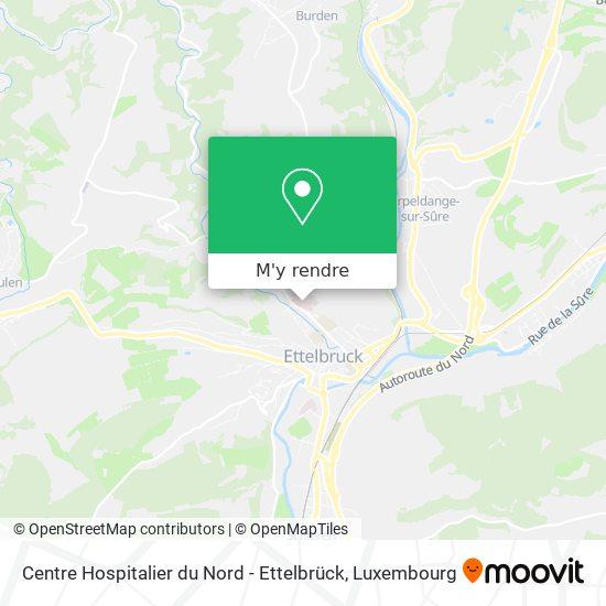 Centre Hospitalier du Nord - Ettelbrück plan