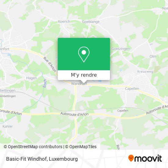 Basic-Fit Windhof plan