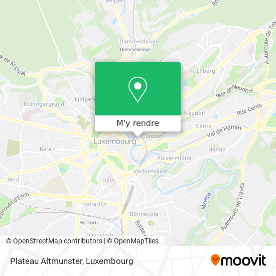 Plateau Altmunster plan