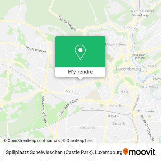 Spillplaatz Scheiwisschen (Castle Park) plan