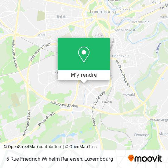 5 Rue Friedrich Wilhelm Raifeisen plan