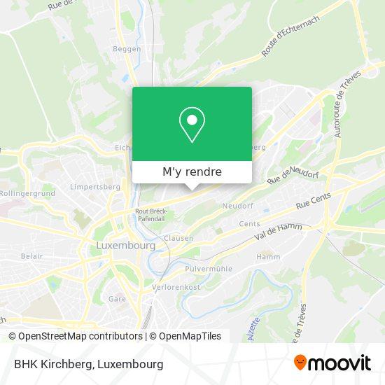 BHK Kirchberg plan