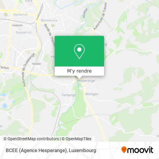 BCEE (Agence Hesperange) plan