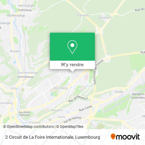 2 Circuit de La Foire Internationale plan