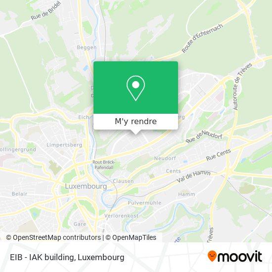 EIB - IAK building plan