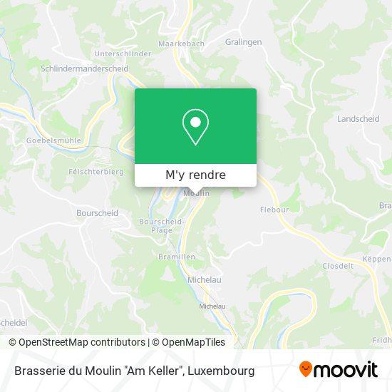 """Brasserie du Moulin """"Am Keller"""" plan"""