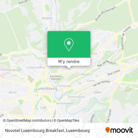 Novotel Luxembourg Breakfast plan