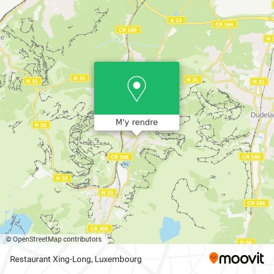 Restaurant Xing-Long plan