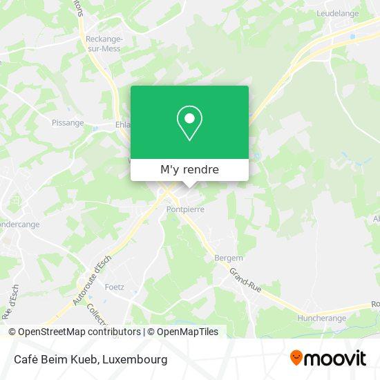 Cafė Beim Kueb plan