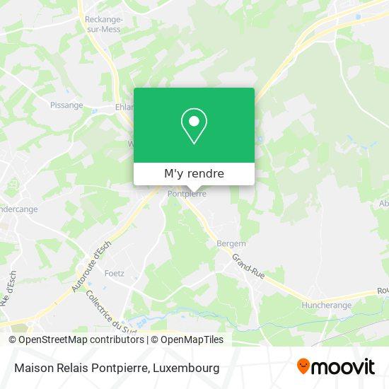 Maison Relais Pontpierre plan